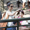 Katie Holmes and Suri Cruise Pictures With Katie&#039;s Mum Kathleen at Central Park Zoo