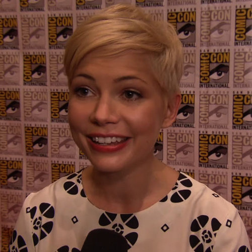 Michelle Williams at Comic-Con For Oz The Great and Powerful