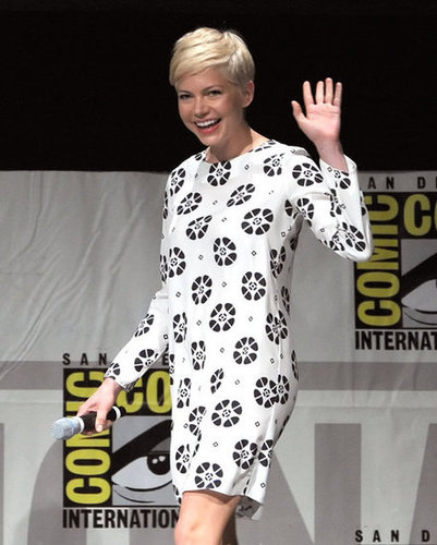 Michelle Williams took the stage for a panel promoting Oz: The Great and Powerful at Comic-Con.