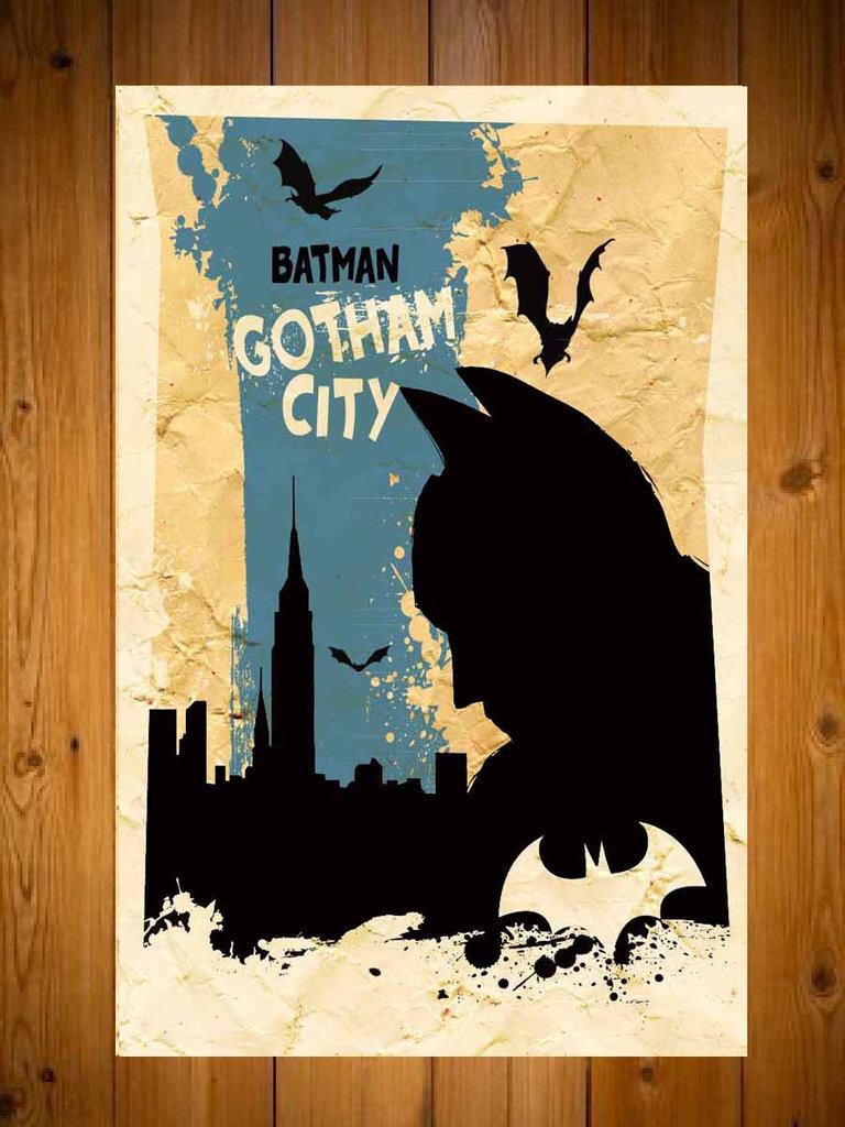 Batman Retro Movie Poster ($18)