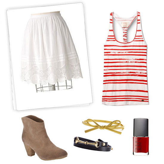 Cute looks to get you ready for Bastille Day celebrations.