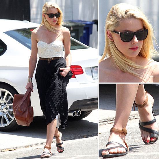 Amber Heard showed off a totally femme Summer look. Do the same.