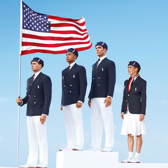 Ralph Lauren's designs for Team USA put us in the American spirit.