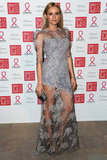 Diane chose a lacy Erdem gown for her appearance at the Sidaction Gala in January 2012.