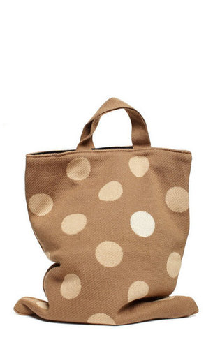 polka dot bag
