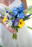 Provencal Flowers Photo by David Bornais Photography via Style Me Pretty