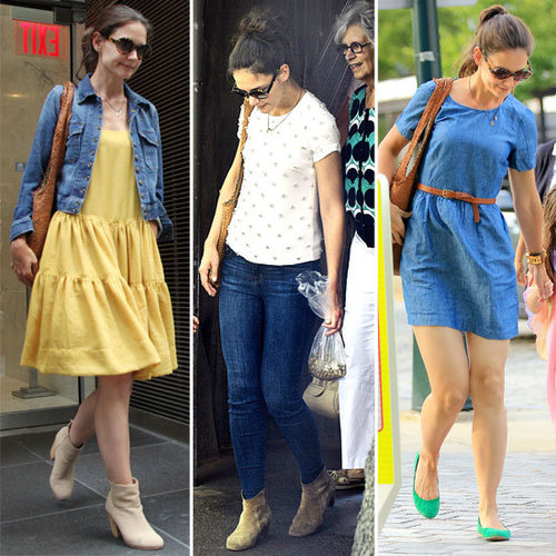 Stalk Katie Holmes Newly Chic Single Style! We Re-Cap a Week in Chic in New York City