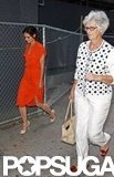 Katie Holmes spent time with mom Kathleen Holmes.