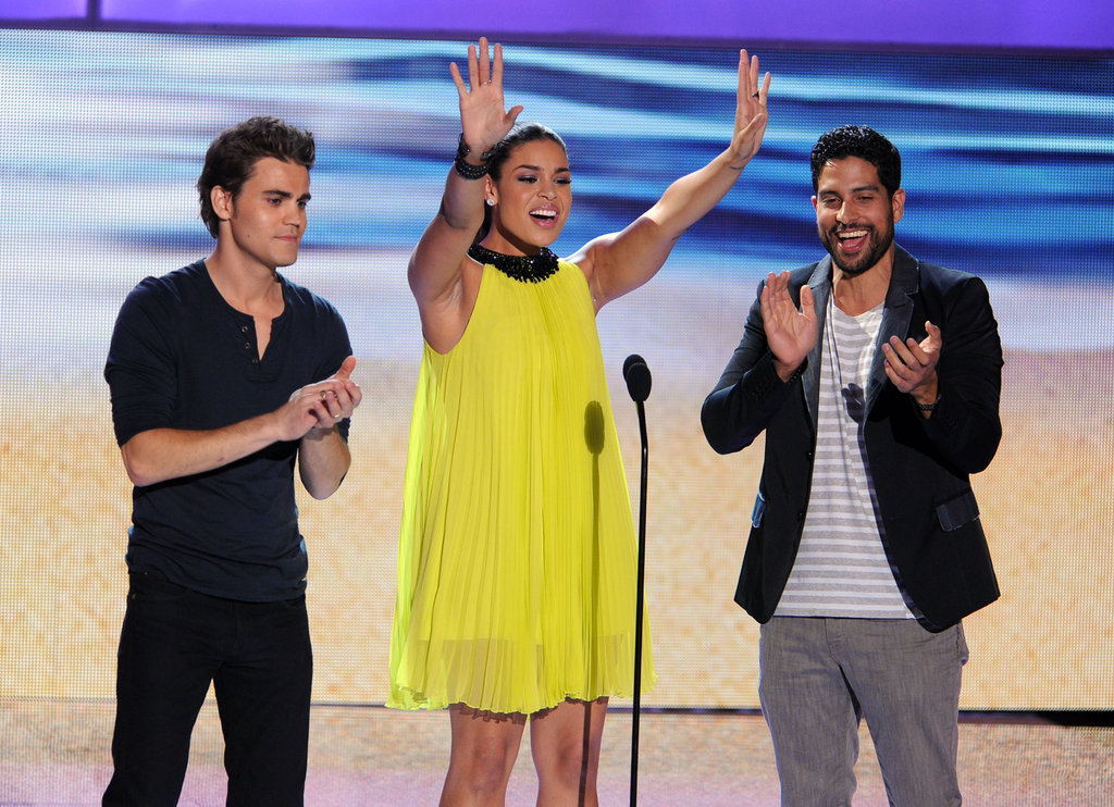 Paul Wesley, Jordin Sparks, and Adam Rodriguez