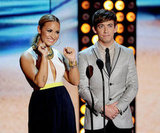 Demi Lovato and Kevin McHale