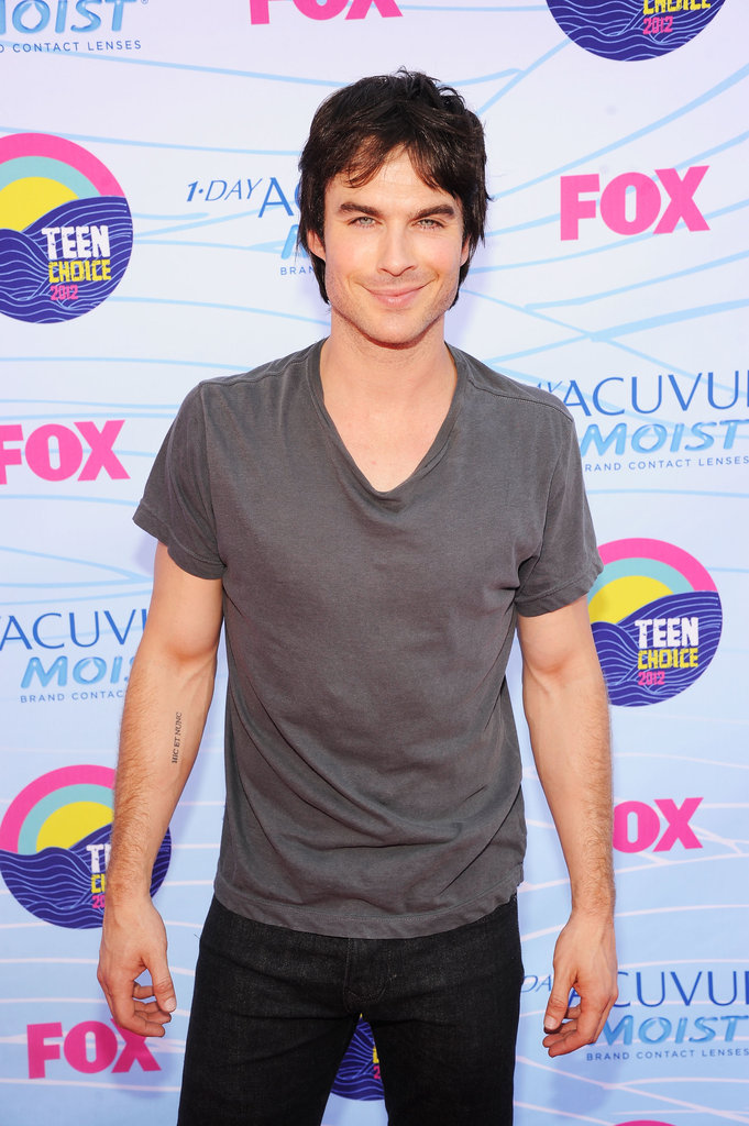 Ian Somerhalder on the Teen Choice Awards carpet.