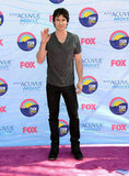 Ian Somerhalder at the Teen Choice Awards.