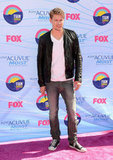 Chord Overstreet at the Teen Choice Awards.