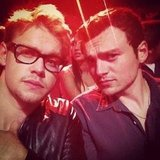 Chord Overstreet attended the Teen Choice Awards with a friend. Source: Instagram user chordover