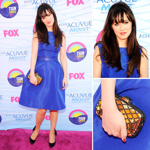 Zooey Deschanel at Teen Choice Awards 2012