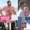 The Week in Celebrity Pictures: The Dark Knight Rises Premieres, Shirtless Hugh Jackman, Elle Macpherson Bikini