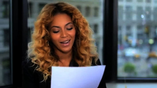 Video: See Beyoncé Read a Heartfelt Letter to Michelle Obama