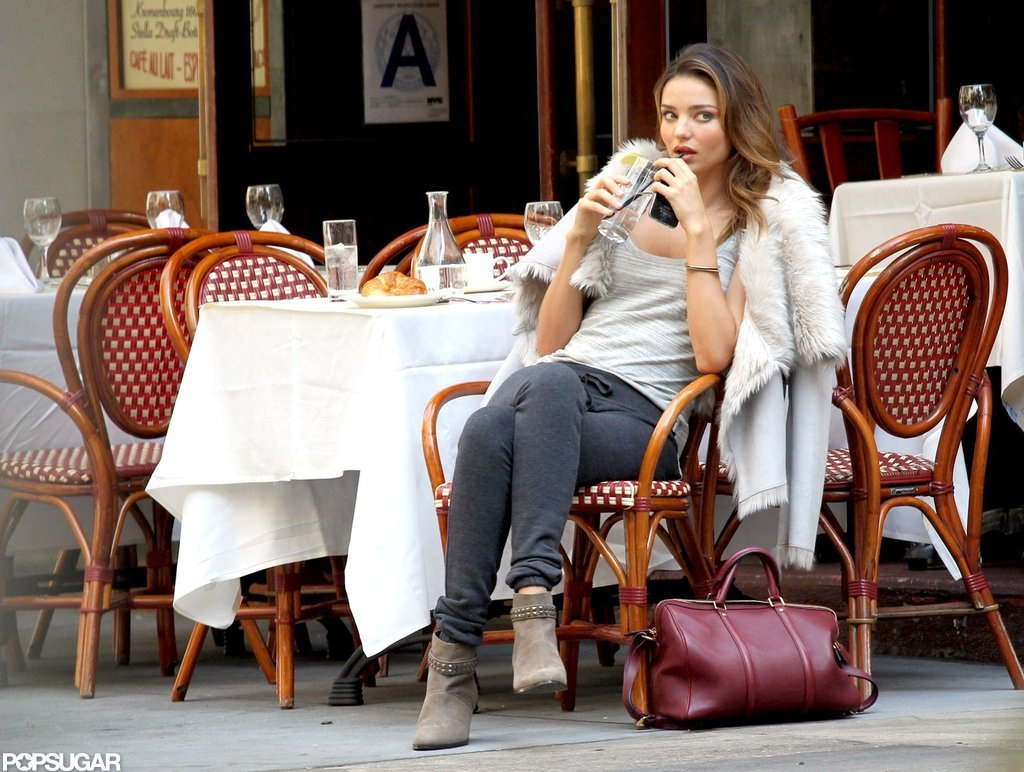 Miranda Kerr Brings Her Best Friend Along For a Shoot