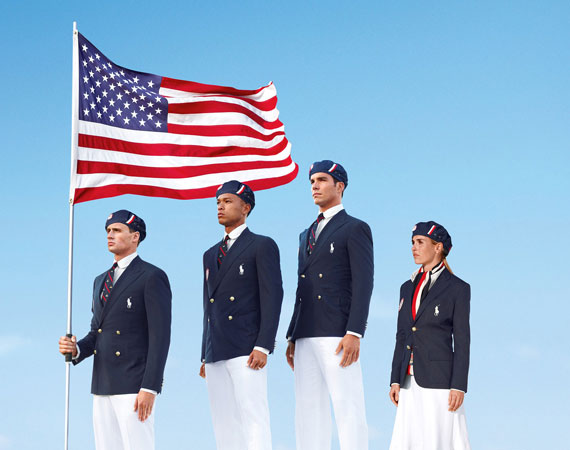 Olympic team uniforms,