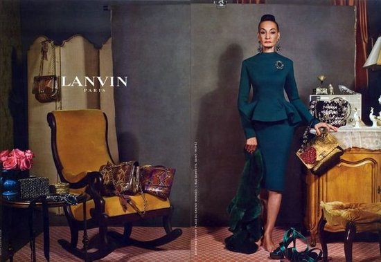 Lanvin Fall 2012 Ad Campaign