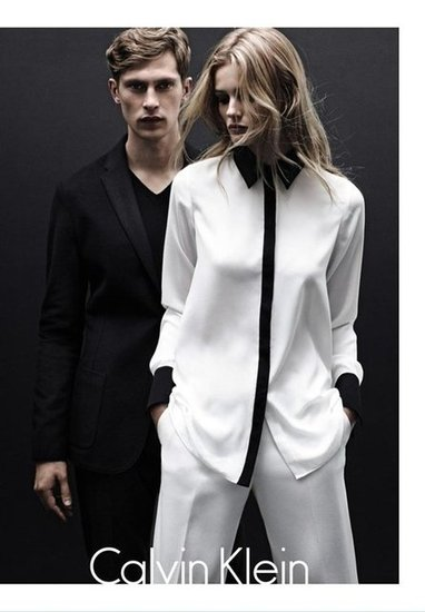 Calvin Klein White Label Fall 2012 Ad Campaign