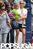 Jennifer Lopez carried Emme Anthony.
