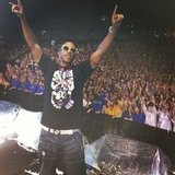Ludacris took the stage in Seoul, Korea. Source: Instagram user itsludacris