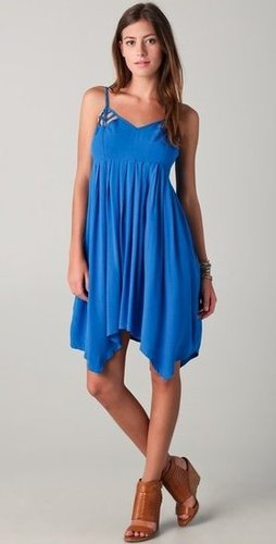 With the brilliant blue hue and ultraflattering fit, this dress is a no-brainer.  BB Dakota Beth Dress ($75)