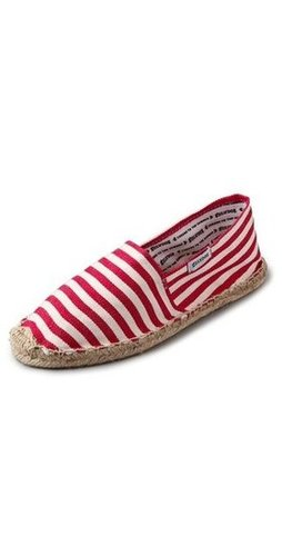 Toss out your worn-out sandals and trade in your lace-ups or heels for something much more low-maintenance. These stripey Soludos will take you from the city to the beach in summery style.  Soludos Woven Striped Flat Espadrilles ($36)