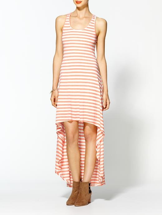 A high-low hemline guarantees you'll feel the breeze on your legs — and this stripey pattern guarantees you'll look the part of Summer styler.  Ya Los Angeles Nautical Maxi Dress ($49)