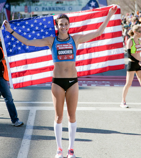 Kara Goucher on Losing Baby Weight and Training For Olympics ...
