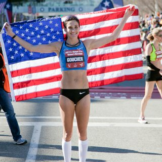 Kara Goucher on Losing Baby Weight and Training For Olympics