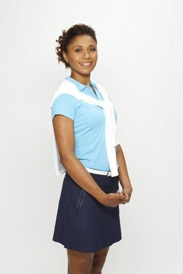 Toks Olagundoye on The Neighbors. Photo copyright 2012 ABC, Inc.