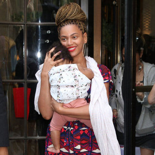 Beyonce With Blue Ivy in NYC