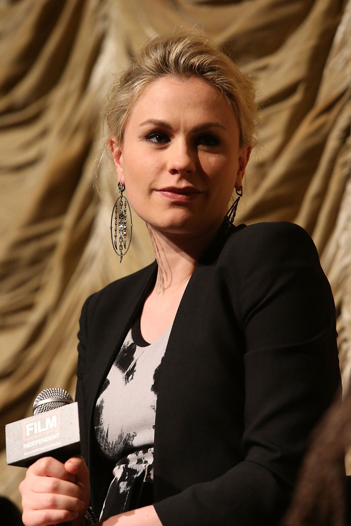 Pregnant Anna Paquin Has Stephen's Support at a Screening of Her New, Old Movie
