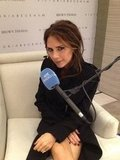 Victoria Beckham did interviews. Source: Twitter user CKennedyPR
