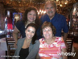 Eva Longoria enjoyed a meal with her family in San Antonio, TX. Source: Eva Longoria on WhoSay