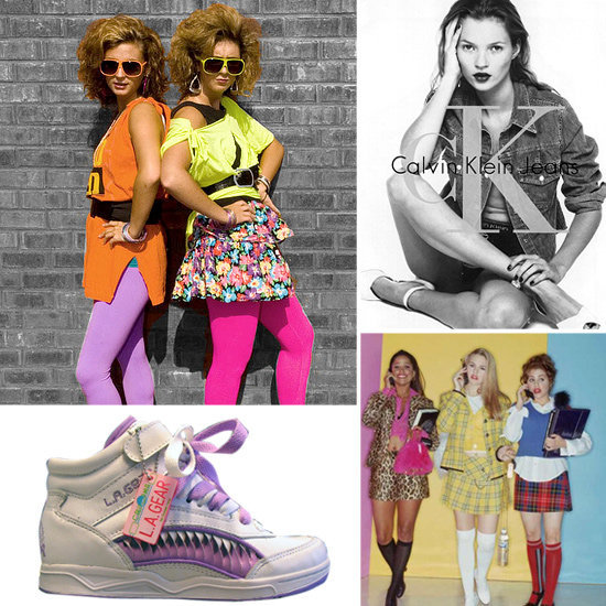 Sugar Shout Out: Fashion Trends From the '80s and '90s