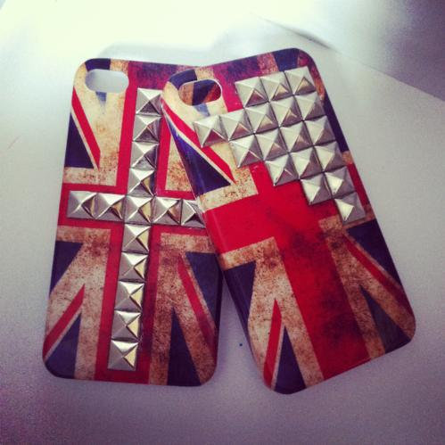 Union Jack Studded iPhone Case ($13)