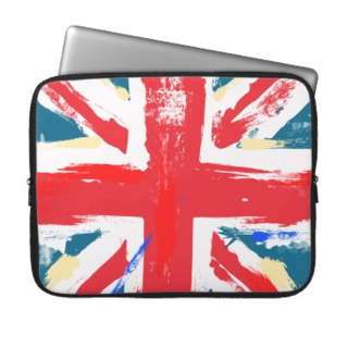 Union Jack Laptop Cases