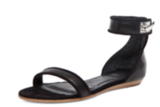 Arguably one of the Summer's most beloved sandals, both in flat and heeled form, we couldn't not include these. Givenchy's It sandal nails the sleek shape but also includes an edgier buckle twist to give it that something extra. Givenchy Virginia Sandal in Black ($950)