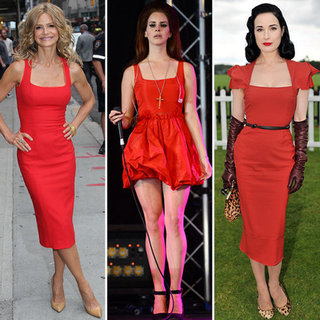 Red Dress (Celebrity Pictures)