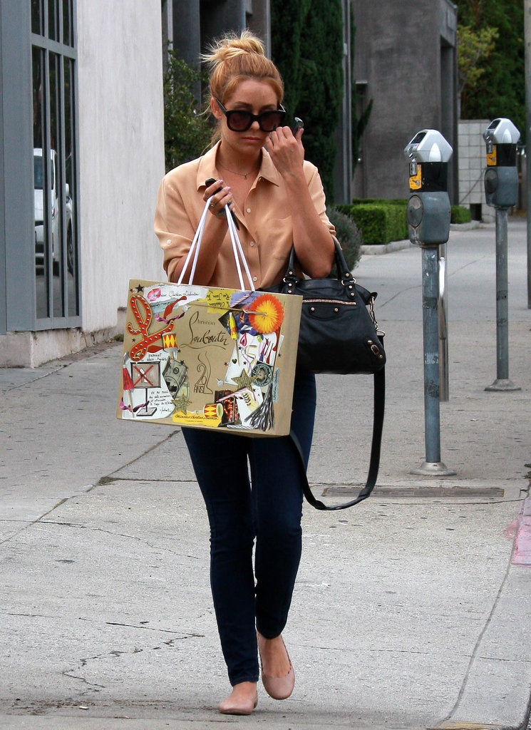 Lauren Conrad stepped out for a day of shopping in West Hollywood.