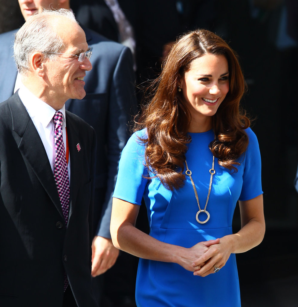 Kate Middleton wore a $75,000 Cartier necklace.