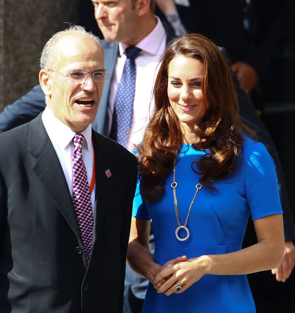 Kate Middleton in Cartier and Stella McCartney.