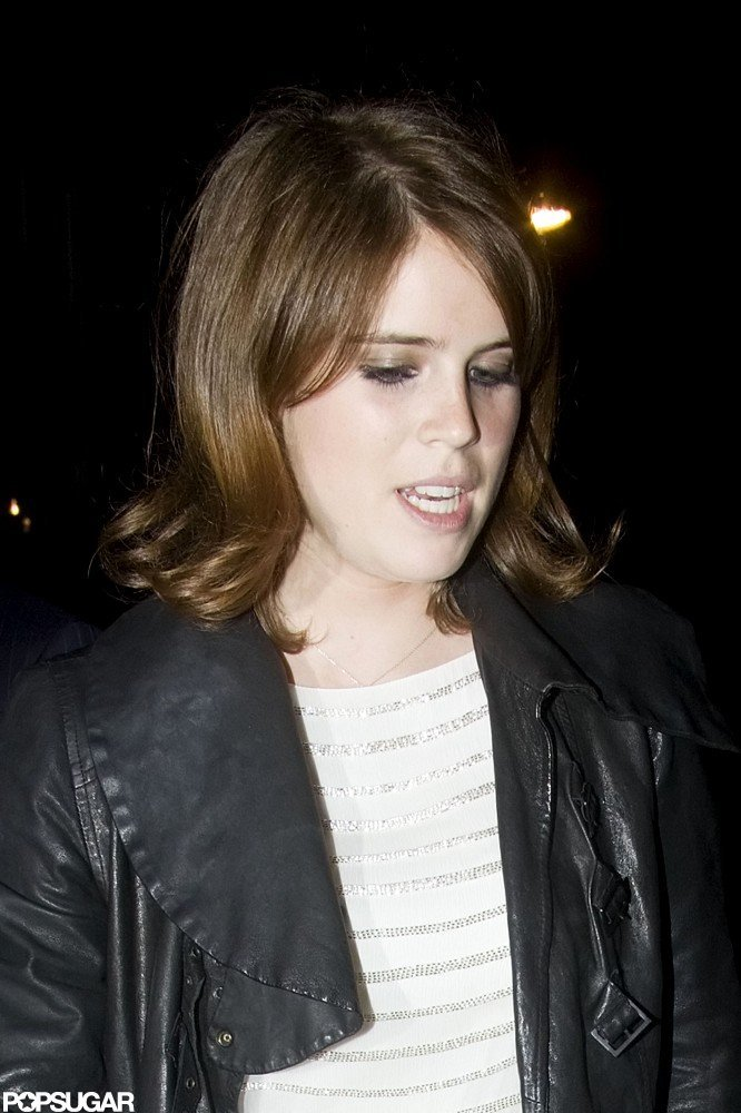 Princess Eugenie attended the Dark Knight Rises afterparty in London.