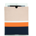 This Clare Vivier for Splendid iPad sleeve features bold colorblocking and a sleek silhouette.