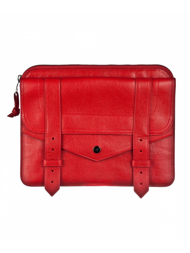 The ultimate luxe investment; this PS1 iPad case will last you years and, even better, can double as an oversized clutch when you're not toting around your iPad.  Proenza Schouler PS1 iPad Case ($685)