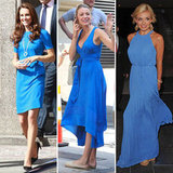 Kate Middleton's Bright Blue Stella MCartney Dress