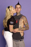 Travis Barker and Shanna Moakler, 2004